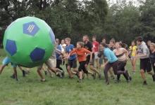 так розважаються в спортивній атмосфері українські скаути