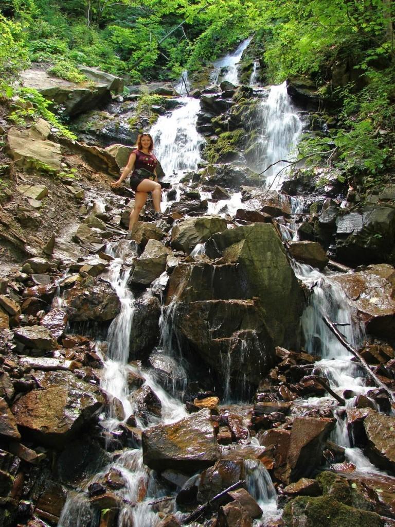 Водоспад Труфанец - водоспади Карпат
