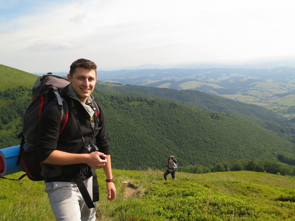 похід на Боржавський хребет  в Карпатах