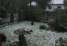 вигляд подвіря взимку також зачаровує